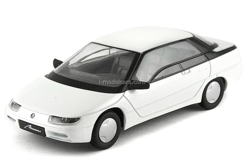 Moskvich-2144 Istra white 1:43 DeAgostini Auto Legends USSR #81