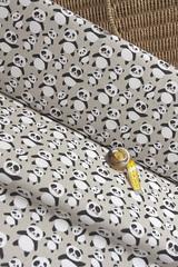 Ткань интерьерная, принт ПАНДЫ