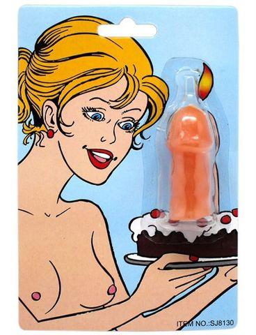 Свечка на торт