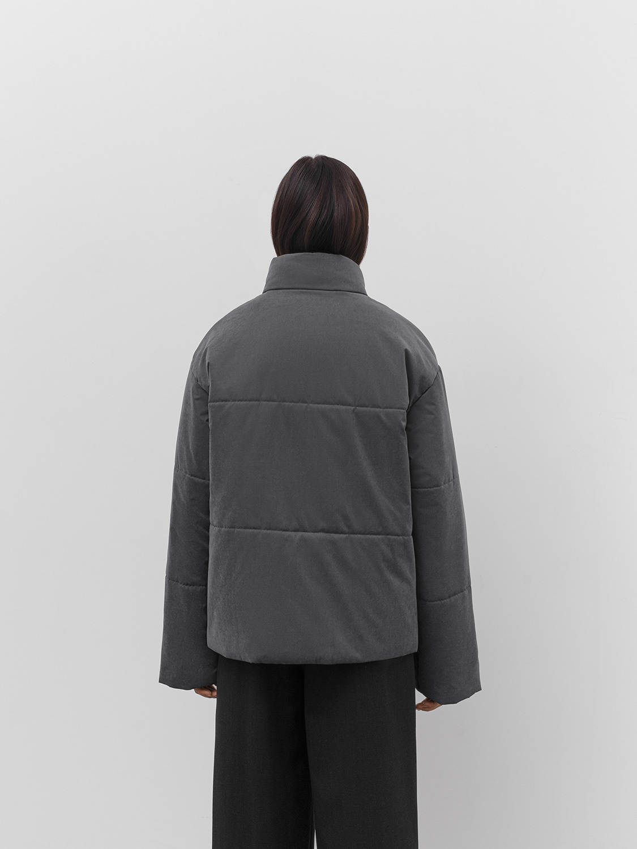 Куртка Берлин с удлинённым рукавом, Графитовый