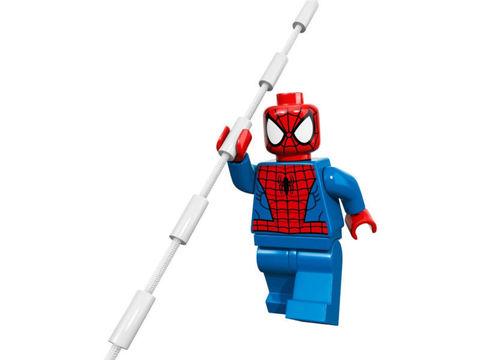 LEGO Super Heroes: Кража грузовика Доктора Осьминога 76015 — Doc Ock Truck Heist — Лего Супергерои Марвел