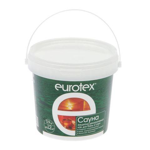 Eurotex-Сауна лак защитный для дерева 2,5 кг/4