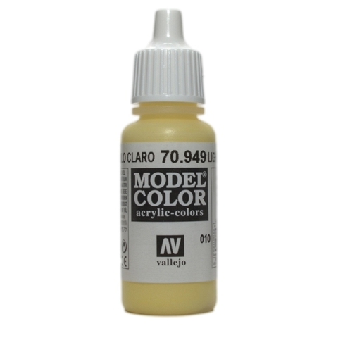 Model Color Light Yellow 17 ml.