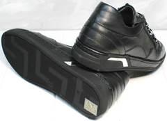Черные кроссовки с черной подошвой женские Rifelini by Rovigo 121-1 All Black