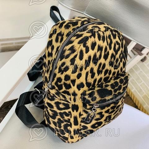 Рюкзак леопардовый тренд 2019 (цвет: классический)
