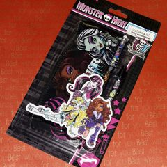 Набор канцелярский c пеналом, Monster High