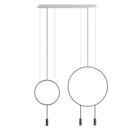 Подвесной светильник копия REVOLTA by Estiluz (2 плафона)