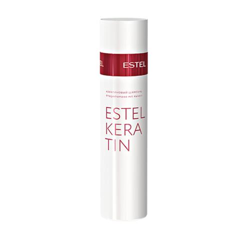 Кератиновый шампунь для волос Estel Keratin, 250 мл.