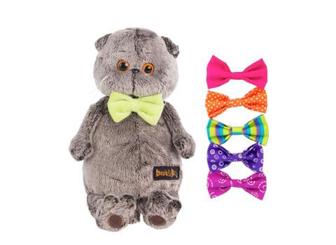 Кот Басик с набором галстуков