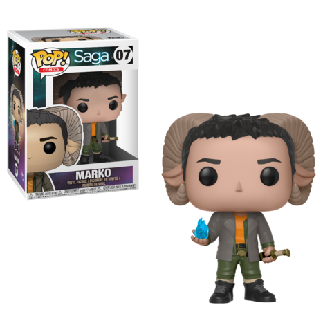 Funko POP! Vinyl: Saga S1: Marko with Sword