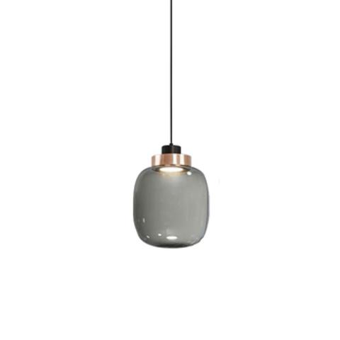 Подвесной светильник копия Legier 1 by Tooy (дымчатый)