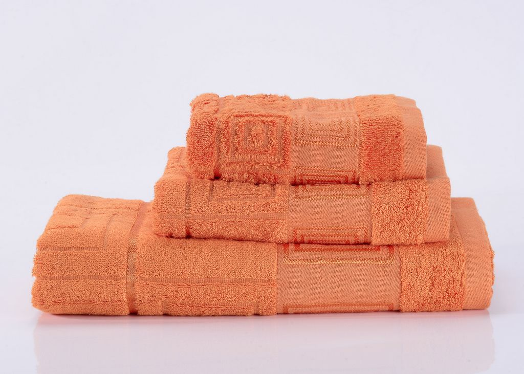 Полотенца Miranda-5 оранжевое махровое  полотенце Valtery miranda-5-polotentse-bannoe.jpg