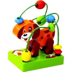 Toys Lab Деревянный лабиринт «Собачка» (71011)