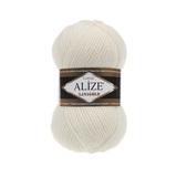 Пряжа Alize Lanagold 62 молочный