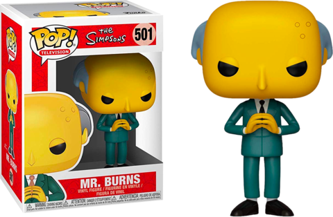 Фигурка Funko Pop! Animation: The Simpsons - Mr. Burnes
