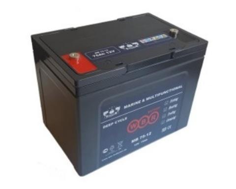 Аккумулятор глубокого разряда MB 75-12