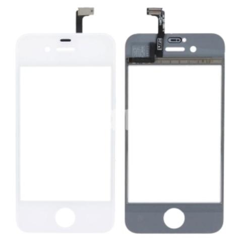 Сенсорное стекло,тачскрин iPhone 4/4S 5 5S/5С черное, белое