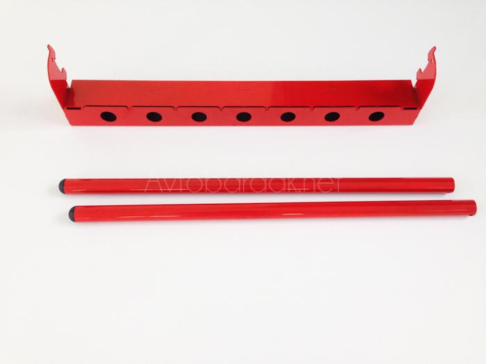 Набор: кронштейн для велосипедов + полка + перфопанель (система IF)