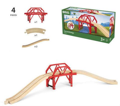 BRIO 33699 Изогнутый мост