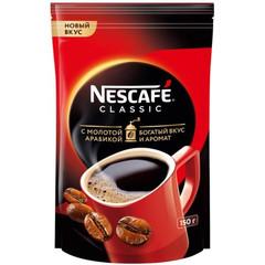 Кофе Nescafe Classic раств.гранул.пакет 150г