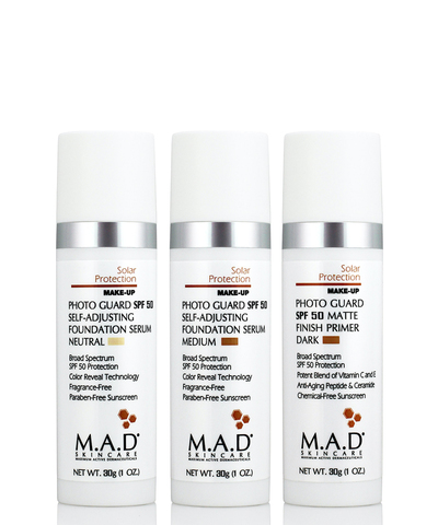 Матирующий крем-праймер с защитой Solar Protection Photo Guard SPF 50 Matte Finish Primer, Neutral, M.A.D Skincare, 30 гр