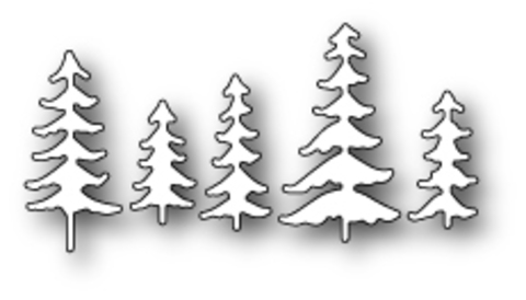 Ножи для вырубки Fresh Pine Trees craft die