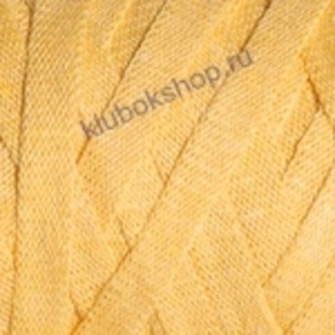 Ленточная пряжа YarnArt Ribbon цвет 764 желтый