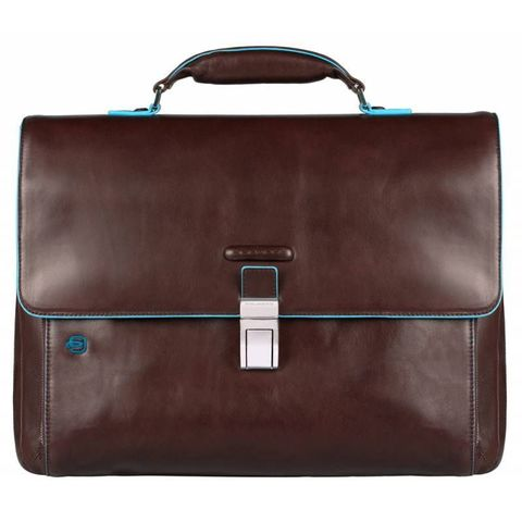 Портфель Piquadro Blue Square (CA3111B2/MO) коричневый кожа/нейлон