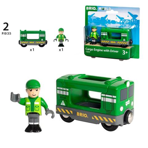 BRIO 33894 Грузовой локомотив для деревянной железной дороги