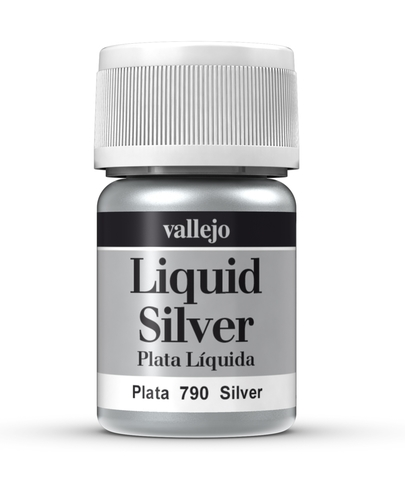 Model Color Liquid Silver (Alcohol Based) 35 ml.