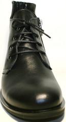 Женские ботинки черные