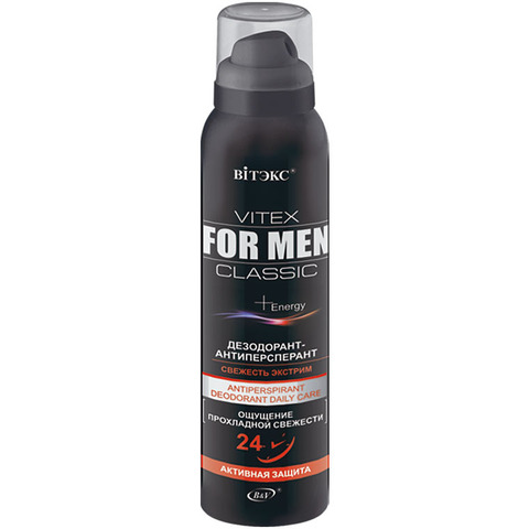 Витэкс Vitex for men Classic Дезодорант-антиперспирант 150 мл