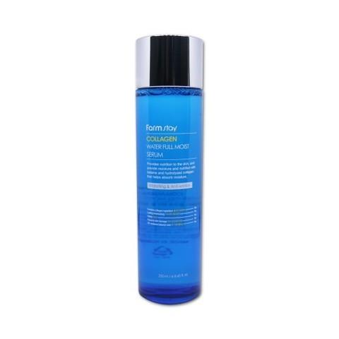 Farmstay Collagen water full moist serum Увлажняющая сыворотка с коллагеном, 250 ml