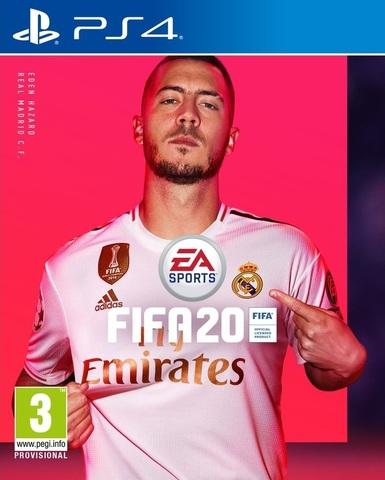 PS4 FIFA 20 (русская версия)