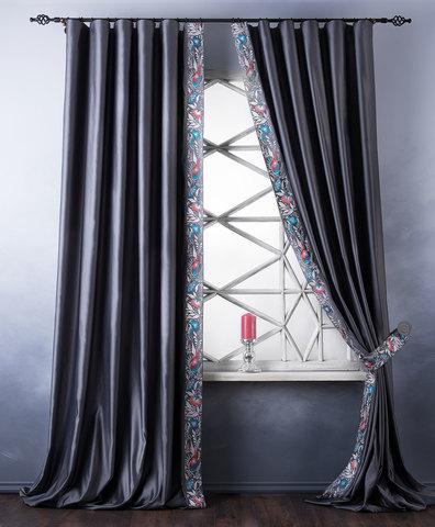 Комплект штор Форева серый