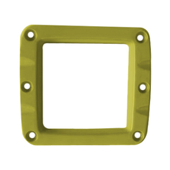 Сменная панель алюминиевая для фар W-Серии, Цвет Жёлтый, 1 штука ALO-2CFY