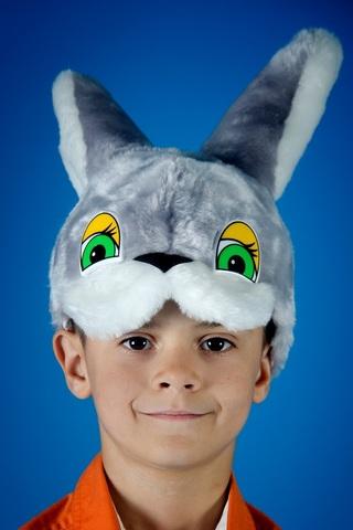 Карнавальная шапочка Зайца