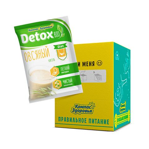 Кисель Компас Здоровья Detox Bio Diet овсяный, 10 порций