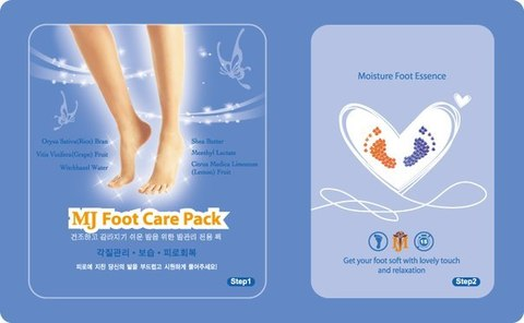 MIJIN Маска для ног с гиалуроновой кислотой FOOT CARE PACK
