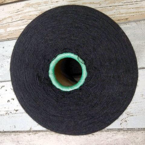 Меринос с шелком (30%) 2/60 BOTTO GIUSEPPE ZEN черный
