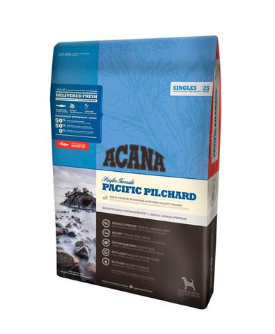 Acana Singles Pacific Pilchard корм беззерновой для собак (тихоокеанская сардина) 340 г