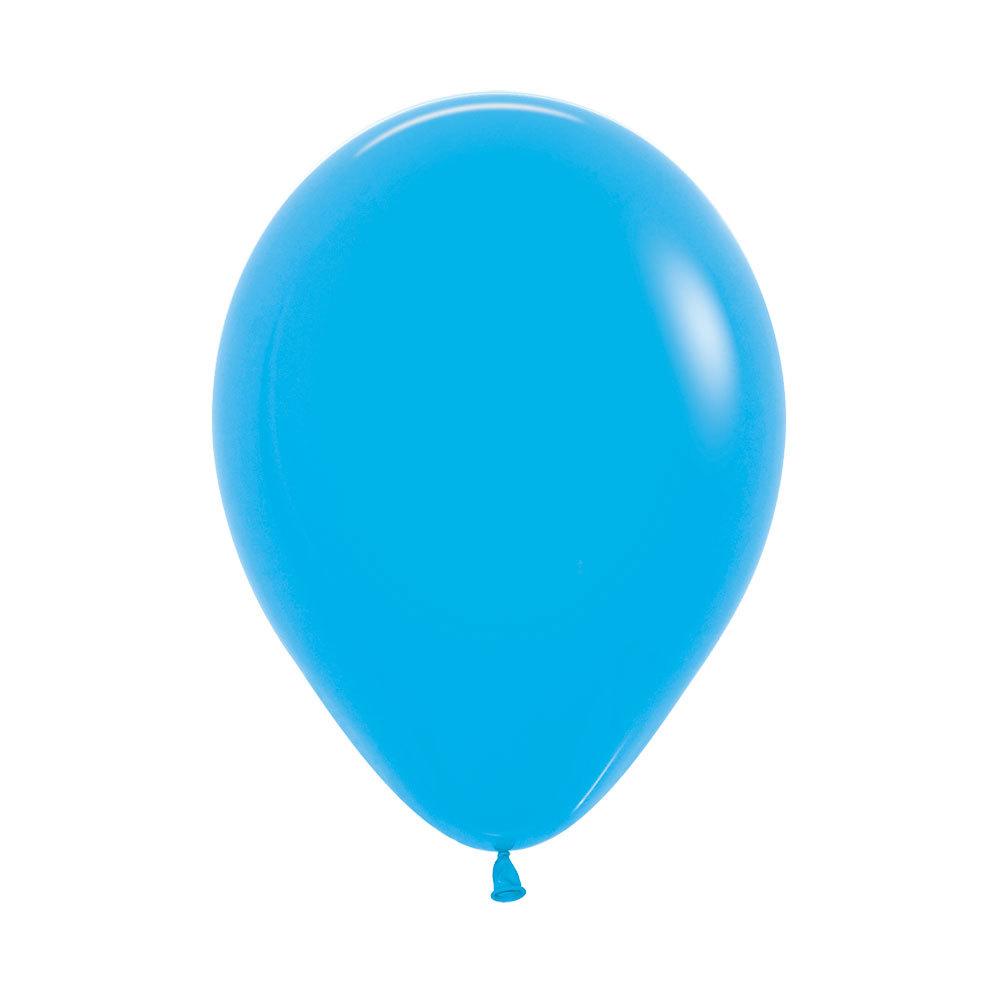 Латексный воздушный шар, цвет голубой