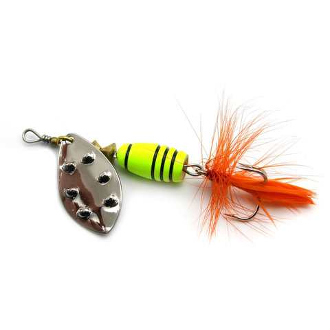 Блесна Extreme Fishing Total Obsession №3 9g 16-FluoYellow/S