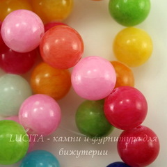 Бусина Жадеит, шарик,