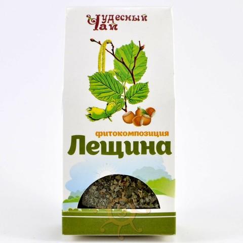 Лещина листья сушеные Чудесный чай, 50г