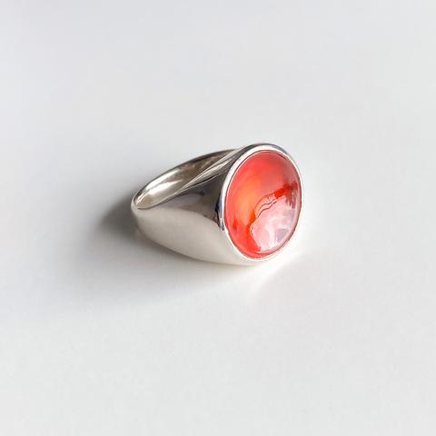 Кольцо TOUCH - Сердолик