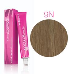 Matrix Socolor Beauty 9N очень светлый блондин, стойкая крем-краска для волос