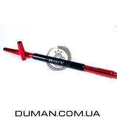 Алюминиевый мундштук AMY DeLuxe красный для кальяна