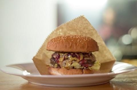 Cranberry burger