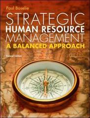 Strategic Human Resource Management: A Balanced Approach